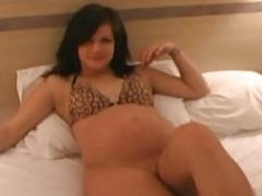pregnant - crystal beigeshirt video