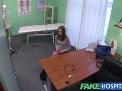 Fake Hospital Virginal redhead gets a creampie prescription