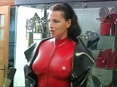 Bondage domination sadisme masochisme, Femme dominatrice, Latex, Caoutchouc