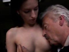 フェラチオ, 茶髪の, 乳首