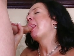 sexy eager mom
