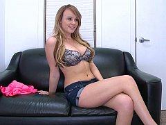 Unique gal Alexis Adams has huge perky natural boobs