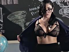 Busty slut Skyla is craving for a dick