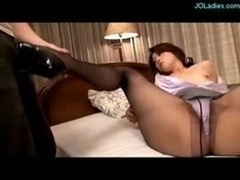 Office Woman Hole On Pantyhose Giving bj Fucked O