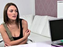 Braunhaarige, Pornostars