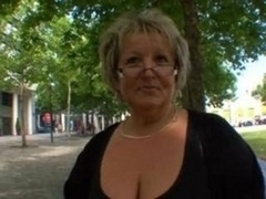 Carole French mature rectal fucked