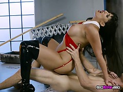 Hot Vampire Mercedes Carrera Gets Impaled By Her Victim
