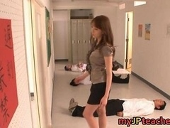 Arisa Sawa Slutty Oriental teacher