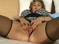 Sexually available mom in Lingerie Wants her Cum bucket Enjoyed