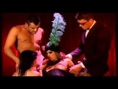Underwear orgy