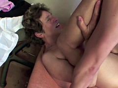 76yr old Granny Anke Seduce to Fuck by 18yr old Boy in Ass