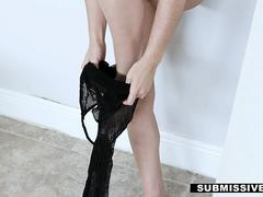 Subnissived - Sexy Teen Dominated By BF
