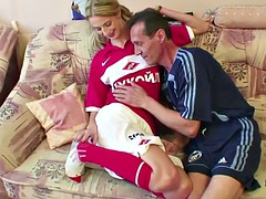 Step-dad seduce young NOT Step-daughter to Fuck his big dick