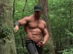 ゲイ, 筋肉, アウトドア
