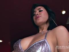 horny babe Maria Ozawa fingering and toyed