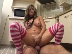 Do Brazil latin genital cumshot kitchen adult star