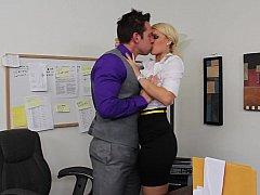 Blonde, Hard, Mère que j'aimerais baiser, Bureau, Secrétaire