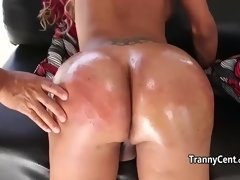 transexual orgy with cum facials