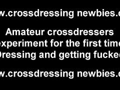 in lingerie dressing makes my dick so hard