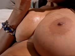 susana alcala shows off her gigantic spanish boobs in solo scene