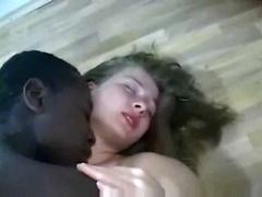 Black Dude Makes Blonde  Pregnant