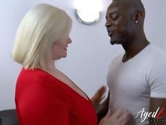 AgedLovE Lacey Star Interracial Hardcore Anal