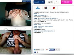 ChatRoulette - Shy Teen With Big Tits