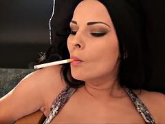 Great smokey fuck - Abbie (smoking)