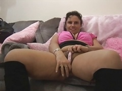 Sizeable titted sexually available mom showing it slowly