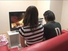 Mother and also son viewing porno together experiment - 6