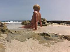 Bain de soleil aux Salines 26-07 3