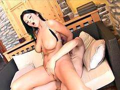 Cock Riding Babe Creamed