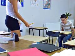 Grosse titten, Geile alte tussi, Doppelpenetration, Milf, Student, Lehrer