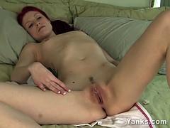 Slim Kandie Masturbating