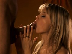 Blonde Blows Her Indian Lover