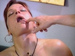 Pierced german floozy anal fuckedand she swallow sperm