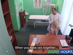 FakeHospital Doctor helps blonde get a wet pussy