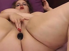 Bbw slut on cam attaches her puffy proposition and pussy