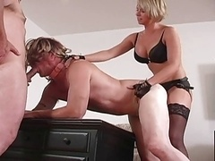 cuck leashed