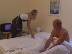 Maid Gets Bum Fucked