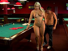 Blonde Eager mom with sizeable plump bum