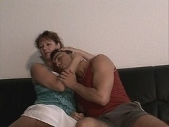 german mother with son
