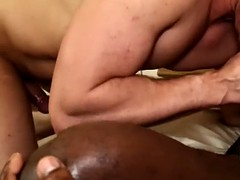 handsome bloke craving for black dick and its semen