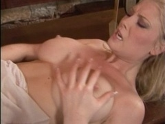 British whore Michelle B gets fucked in a bar