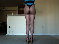 transvestite sexy petite girl in a sexual dress 2