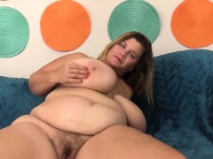 Big boobed BBW Hayley Jane takes cock