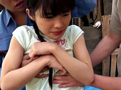Doigter, Japonaise, Plan cul à trois