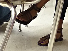 A Friend's Candid Toes