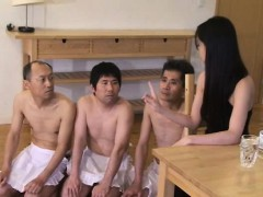 Japanese goddess with sub slave male p2