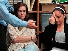 За кулисами, Минет, Две девушки, Группа, В офисе, Наказание, Украденные видео, Втроем